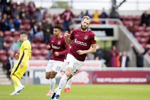 Kevin van Veen was on target from the spot when Northampton lost 3-1 to Cheltenham earlier in the season