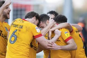 Cobblers are currently six points off the League Two play-offs