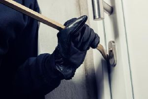 There were a total of 50 burglary reports in Northampton in January 2019