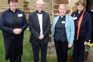 The Archbishop of Canterbury visited Grendon this week