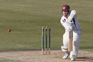 Rob Newton hit 105 for Northants