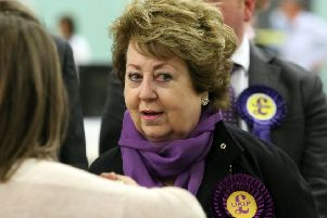 Margot Parker at the 2015 general election