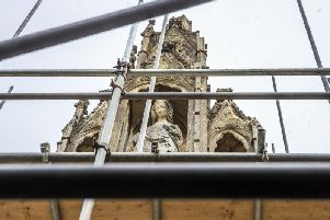 Conservationists have been calling on the borough council to repair the cross for almost three years.