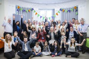 NHC celebrated its third birthday last week at it's Northampton-based office, near the hospital.