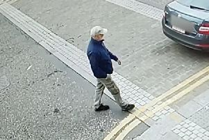 This is the man police wish to speak to in connection with a purse theft in Kettering NNL-190305-140235005