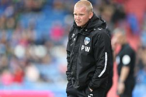 Pete Wild was appointed Oldham's caretaker manager after Paul Scholes left the club last month. Picture: Pete Norton