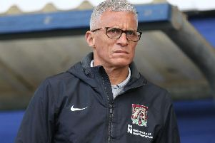 Keith Curle will sit down with all of his players on Monday. Picture: Pete Norton