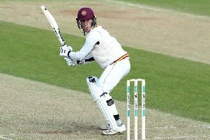 Luke Wood starred with the bat for Northants