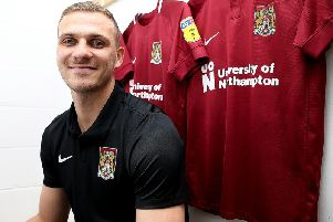 New Cobblers signing Harry Smith (Picture: Pete Norton)