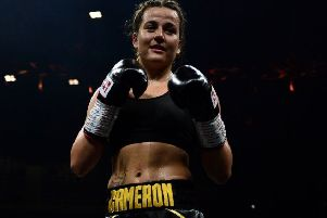 Chantelle Cameron made it 10 pro wins out of 10