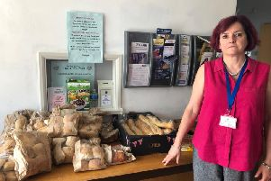 Deafconnect CEO Joanna Steers' staff have given up their own lunch for people who have come through their doors starving.