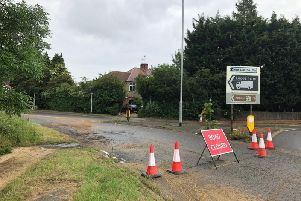 Sandy Lane has now been closed for 11 days