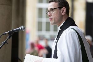 Father Oliver Coss, from All Saints Church, Northampton