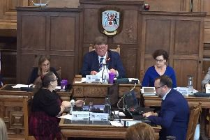 There was a heated debate yesterday about Cllr Birch's suggestion to draw up a poverty strategy.
