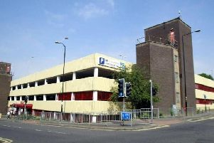 The Mayorhold car park
