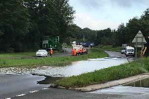 Mereway is now open again following the burst water main last Friday