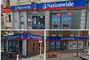 Three Northampton Nationwide branches are earmarked to close before the end of the year.
