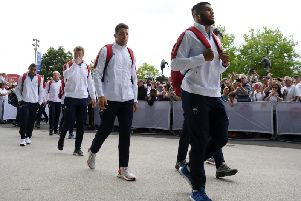 Lewis Ludlam walked into Twickenham for the first time as an England player