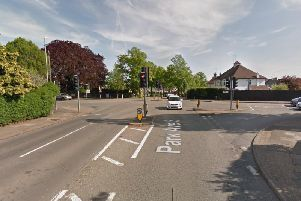 The crash was at the junction of Park Avenue South and Billing Road on Sunday. Photo: Google