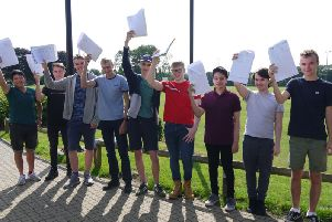 NSB boys were over the moon today as the school is on target to beat the national averages in both attainment and progress 8.