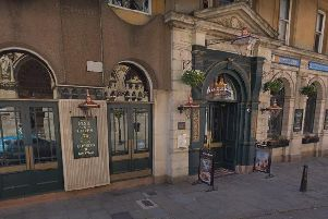 The Old Bank pub in St Giles Square