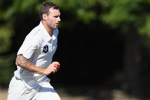 Doug Bracewell is back at Northants