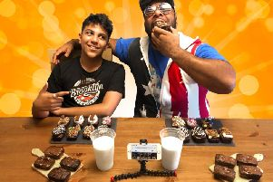 John and Leo Lashley have set up Brooklyn Brownie Co. together