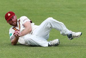 Luke Procter took three wickets for Northants