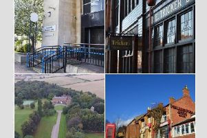 A selection of the historical buildings part of the Heritage Open Days