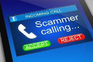 Fraudsters are attempting to call homes in Northampton - offering customers the chance to arrange for their money to be collected.