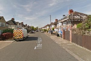 The girl was reportedly forced into the man's car on The Headlands, Northampton. Photo: Google