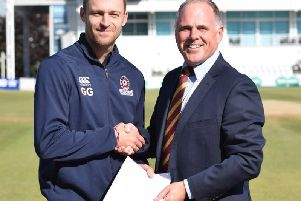 Graeme White is staying with Northants