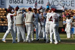 Northants have been promoted to division one of the Specsavers County Championship