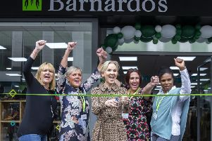 Lisa Maxwell, who is best known for her role as Samantha Nixon in The Bill, officially opened the store on Saturday. Pictures taken by Kirsty Edmonds.