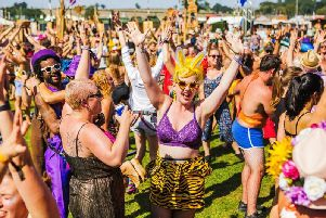 The festival's alternative ethos attracts visitors from around the world
