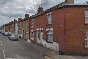 The incident took place in Essex Street, Semilong, last month, Northamptonshire Police today confirmed. Credit: Google Maps.