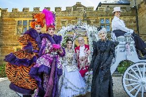 Cinderalla panto stars will be among the guests at the light switch-on