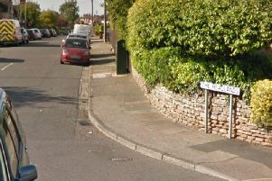 The incident took place in The Headlands, police today confirmed (Monday).