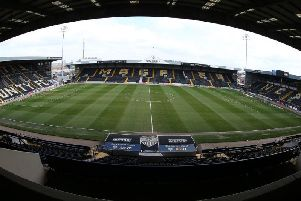 Meadow Lane, home of Notts County.