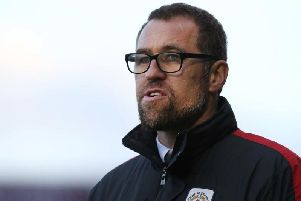 David Artell will celebrate three years in charge of Crewe in January
