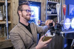 New manager of Baroque Nathan Allard (pictured) is excited to get the bar back up and running after its revmap. Pictures by Kirsty Edmonds.