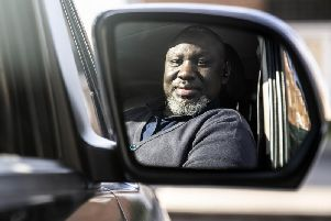 Taxi driver Mame Kamara says he and his colleagues are putting subjected to racial abuse to the point it makes him apprehensive before every fare.
