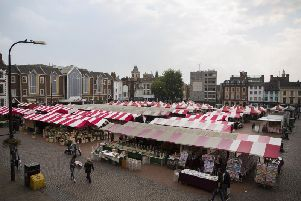 The borough council is looking at how to improve the fortunes of the market square