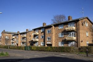 St Mary's Court in Spring Boroughs is one of the flats that will be demolished to make way for the new homes