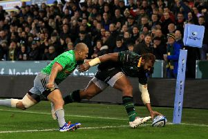 Taqele Naiyaravoro is one of the favourites to be top try scorer in this season's Champions Cup