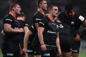 Saracens are now bottom of the league
