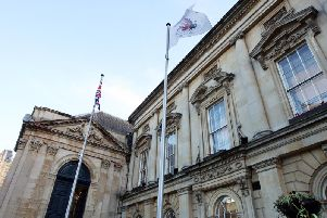 The petition was handed over at County Hall on Thursday morning