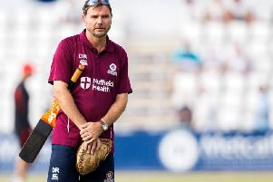 David Ripley and Northants face a testing start to the 2020 County Championship season