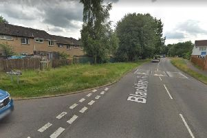 The crash happened on Blackthorn Road near to Harefield Road.