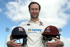 Alex Wakely is staying with Northants until at least the end of the 2021 season